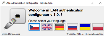 LAN authentication configurator